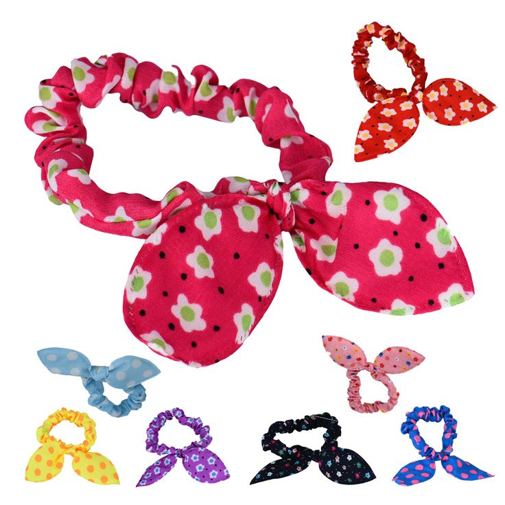 GRACEFUL  Lovely Mini Small Bunny Rabbit Ears Headband Hair Rope Rubber Bands Baby  OCT13