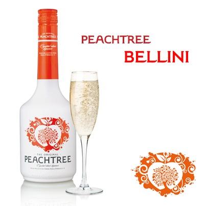 Peach tree drink
