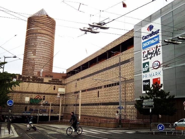 Le centre commercial de La Part-Dieu d'hier à aujourd'hui en un clin d'œil (mai 2017)