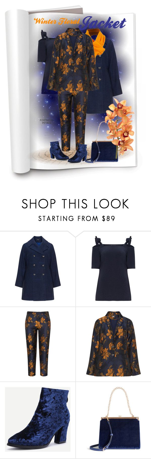 """""""Winter Floral Jackets"""" by vanity-simons ❤ liked on Polyvore featuring Manon Baptiste and LC Lauren Conrad"""