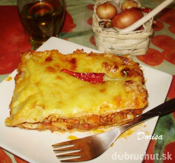 Fotorecept: Lasagne so syrom