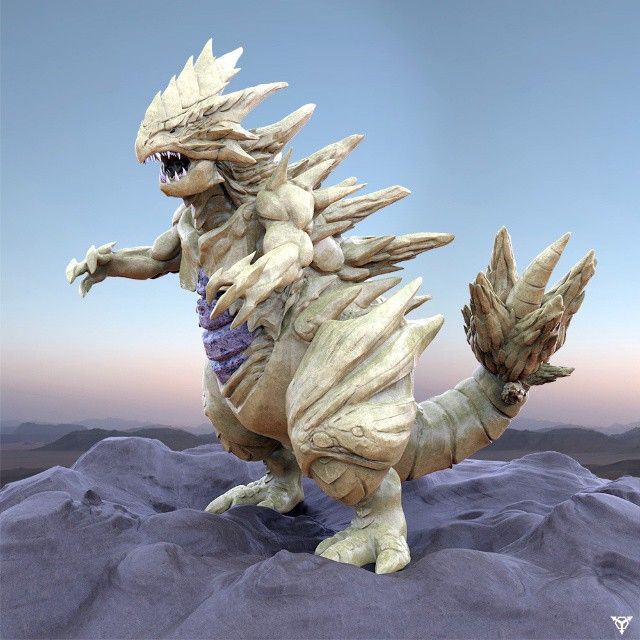 Tyranitar #pokemon #zbrush #tyranitar
