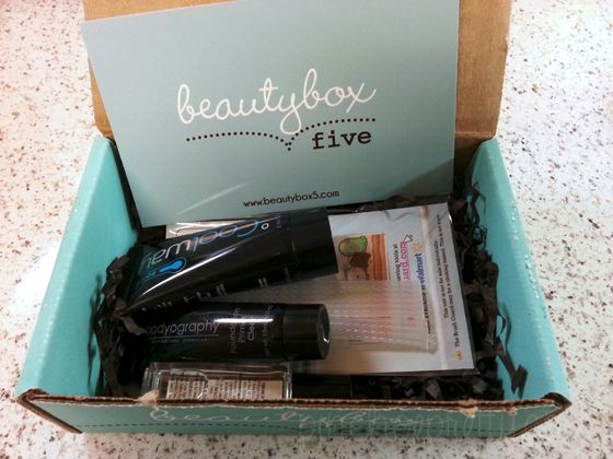 Beauty Box Five ... 5 beauty samples, 12 dollars a month! (nearly 50 dollar value!)
