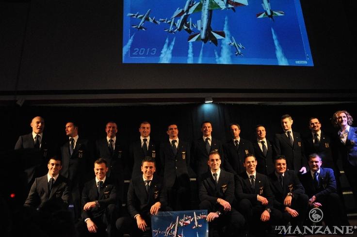 Presentazione Pattuglia Acrobatica Nazionale 2013