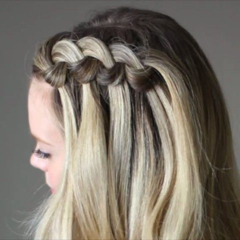Quick look at today's Swirled Knot Braid! Watch the full (slow) video at MisySue.com/wau4 or click the link in my bio! #hairstyles #hairvids #hairfeed #hairandmakeupvids