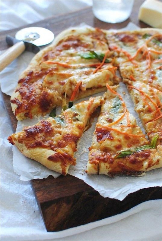 Thai Chicken Pizza on Pinterest | Pizza, Thai Chicken and Chicken
