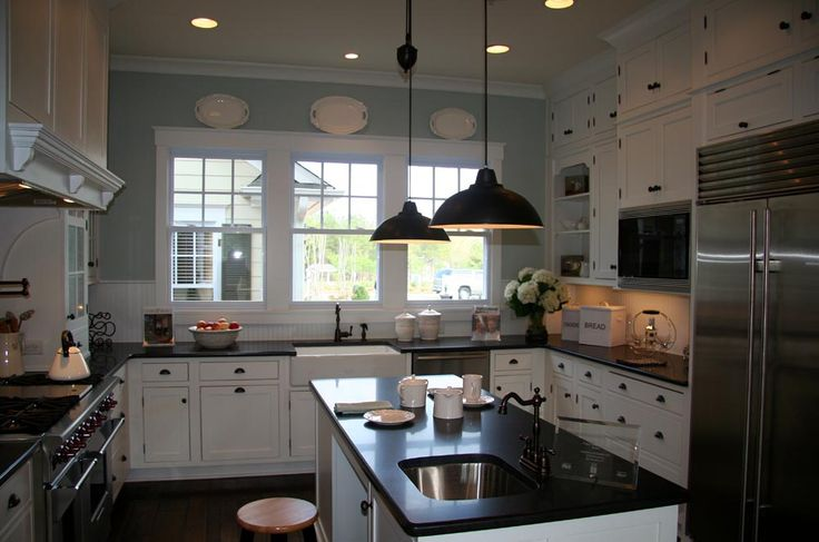 66 best nantucket style homes love images on pinterest for Nantucket style kitchen