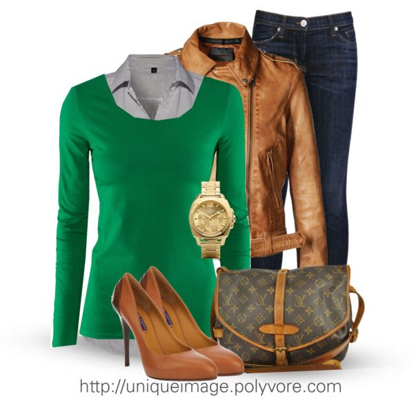 Fall work Outfits for Women | Casual Outfit Ideas | Brown Leather Jacket | Fashionista Trends