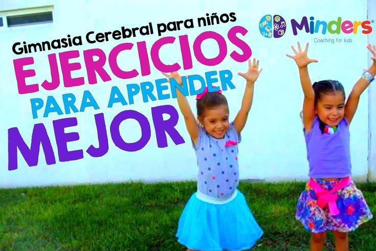 Gimnasia Cerebral para niños  - 6 ejercicios para aprender mejor