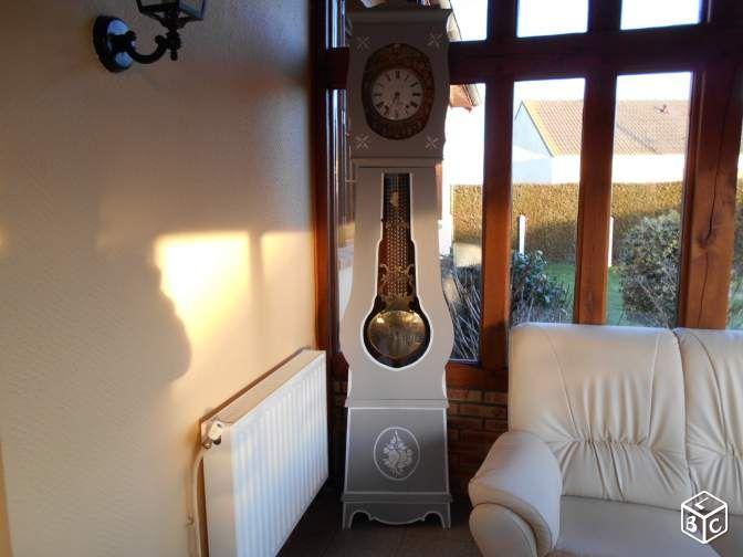 Hervorragend Horloge comtoise ancienne relookée | atelier peinture | Pinterest OB77
