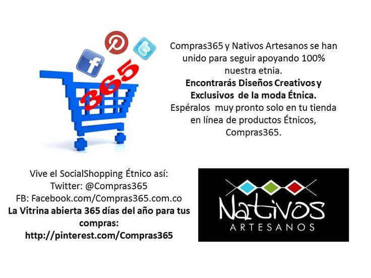 #SocialShopping en #Valledupar #Etnicos #Etnia #NativosArtesanos
