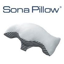 Sona 'Stop Snoring' Pillow with Bonus Pillowcase Clinically Tested, the Sona Pillow Is Designed to Stop Snoring and Assist with Treating of Mild Sleep Apnea