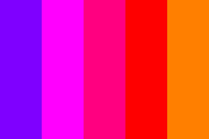 Pink Analogous Color Palette (With images) | Color palette ...
