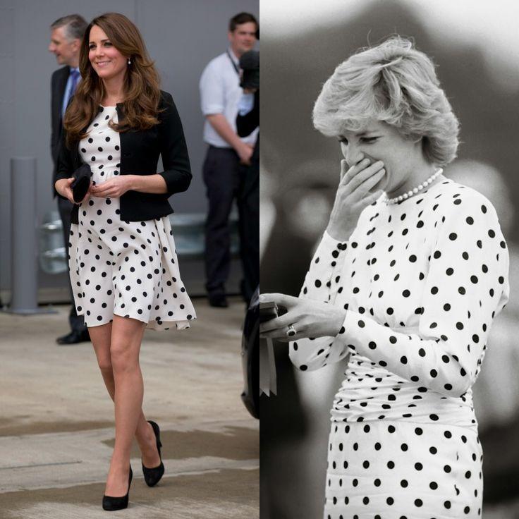 ¿Diana o Carole? Las dos mujeres emblemáticas que inspiran el armario de la Duquesa de Cambridge - Foto 1