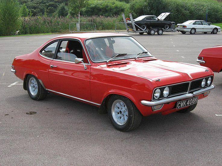 1973 Vauxhall Magnum Coupé