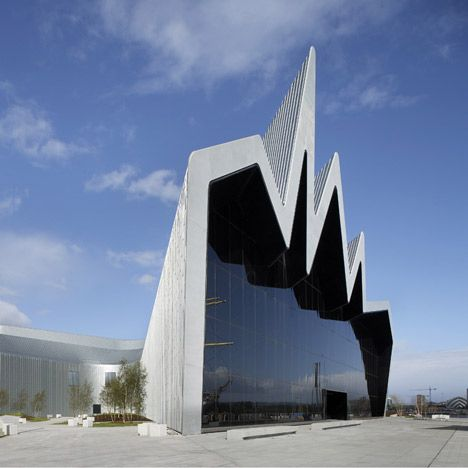 Riverside museum of transport - Glasgow Designed... | The Khooll: Transportation Museums, Architecture Amazing Design, Zaha Hadid Architects, Riversid Museums, Art, Blog, Zahahadid, Glasgow Riversid, Hadid Riversid