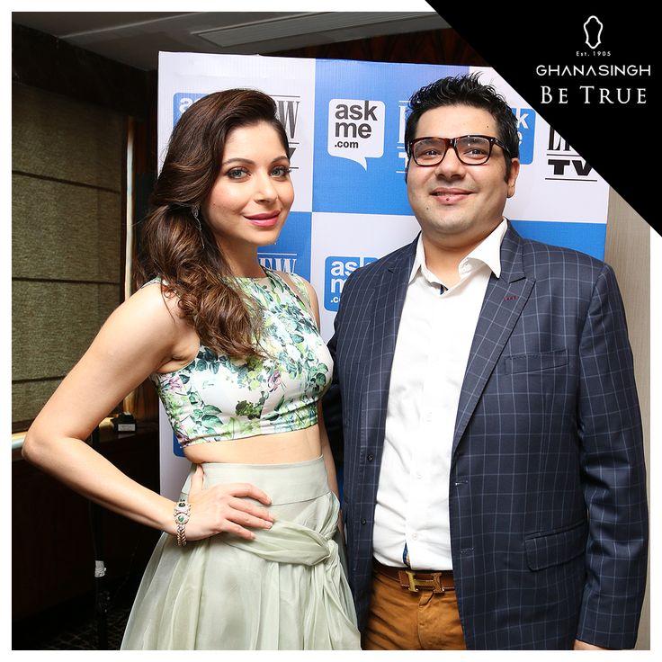 Kanika Kapoor dazzled wearing @GBeTrue jewellery.
