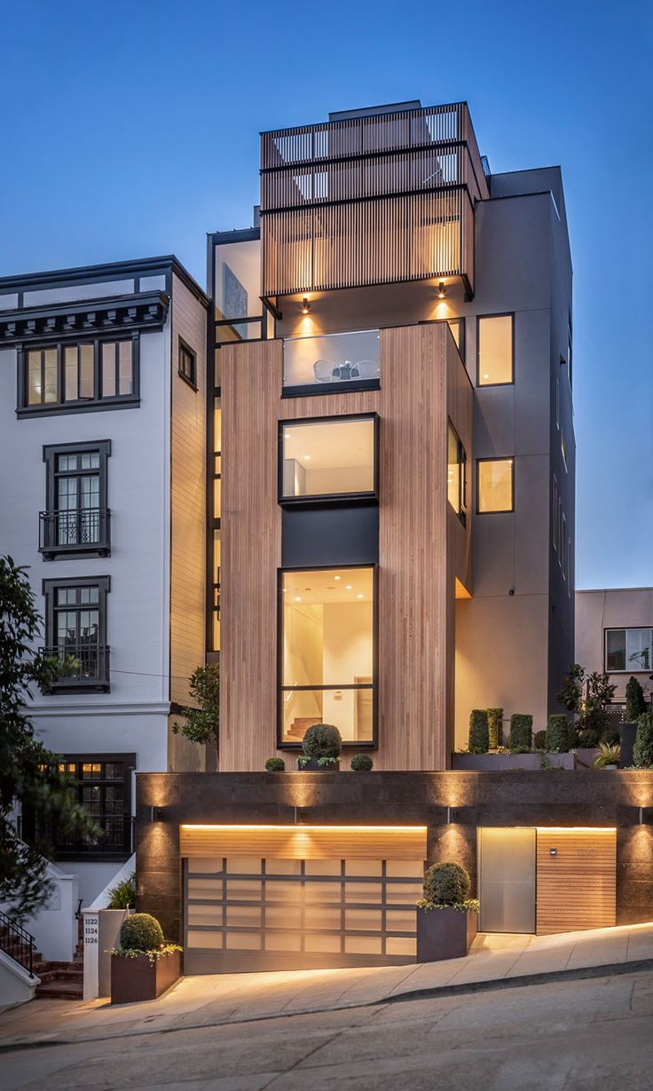 The Design Of This House In San Francisco Takes Advantage Of Its Amazing Views
