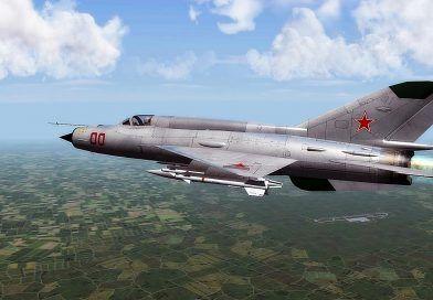 Un avion MIG 21 Lancer s-a prabusit in Constanta. Pilotul s-a catapultat