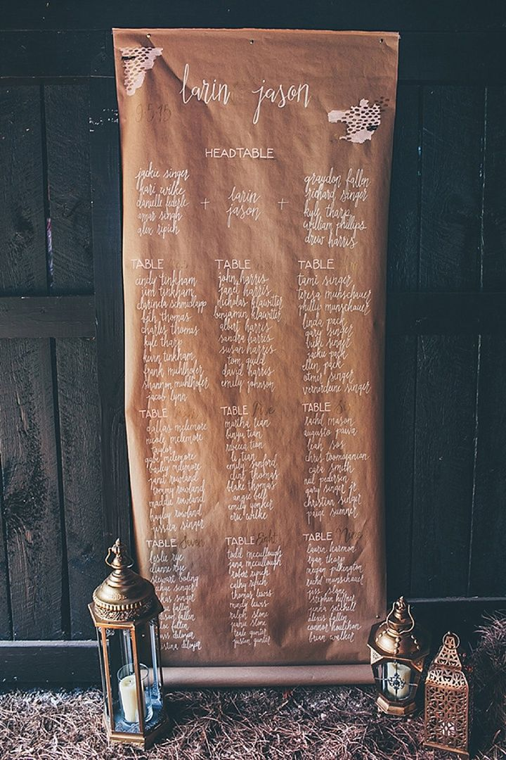 paper scroll table planner