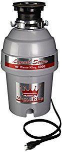 Waste King Legend Series 1.0-Horsepower Continuous-Feed Garbage Disposal - (L-8000) by Waste King