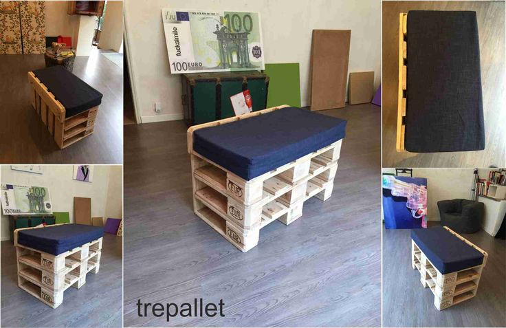 """Trepallet"" comfortable pallet chair"