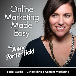 This has become one of my favorite social media marketing podcasts. Amy Porterfield shares tons of excellent information - she is a fantastic teacher and a really nice person ♥