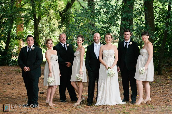 bridal party queenstown