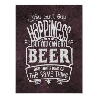 L'affiche de l'amant de bière - ne peut pas achete poster