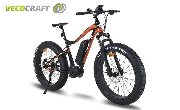 Das Ares M9 ist ein sportliches MTB mit Elektroantrieb, das mit seinen breiten Reifen und dem geschwungenen Design sofort ins Auge fällt.