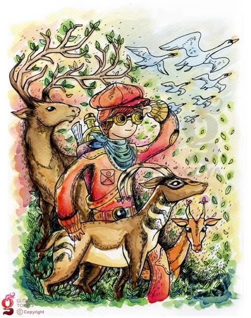 Gloria Torres illustration