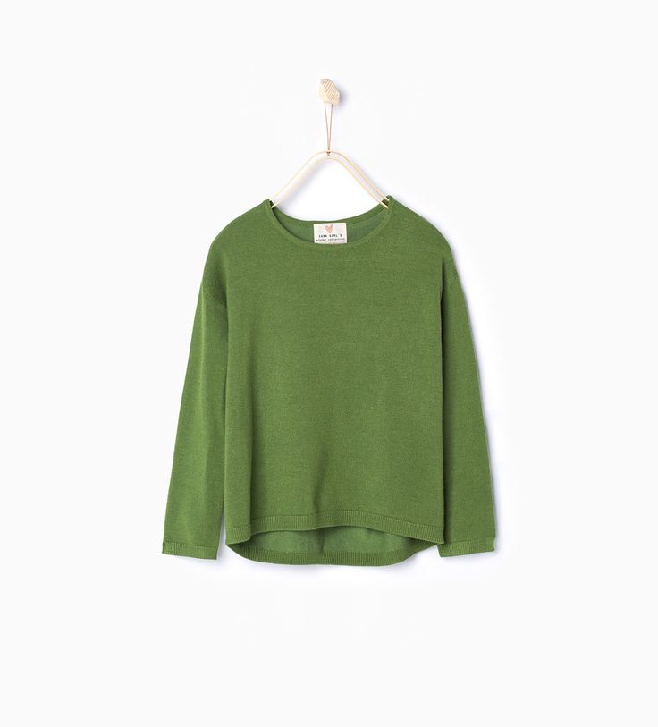 Zdjęcie 1 Sweter z dzianiny zapinany na suwak z Zara