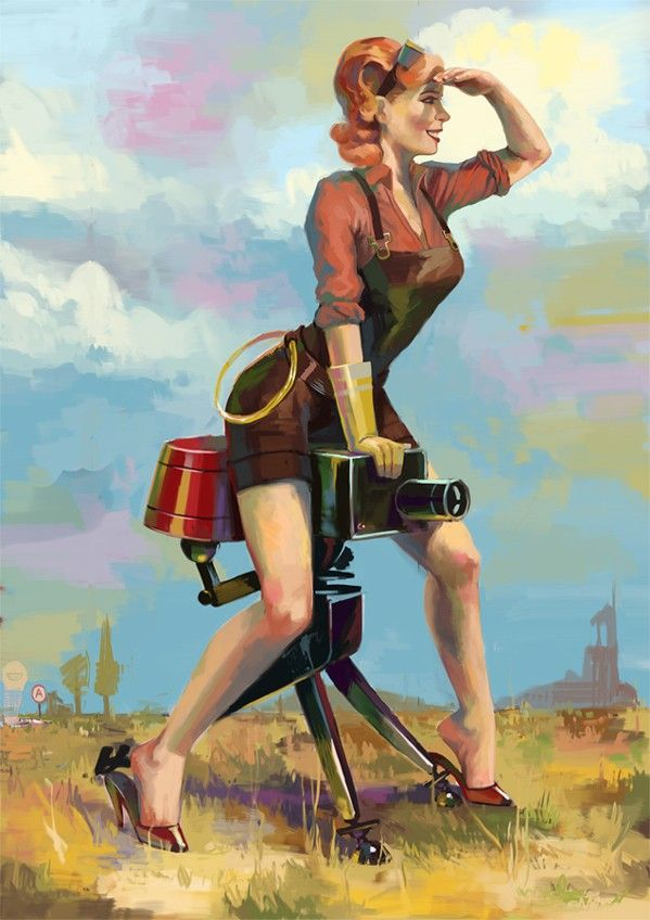These Team Fortress 2 pin-ups would look great hanging anywhere | Joystiq