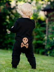 #Halloween kommt. Bei @meandi_de sind die Kleinsten schon im passenden Outfit :)
