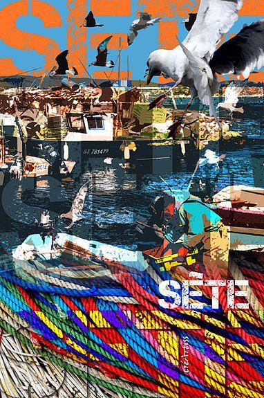 Sète aux couleurs du port de pêche