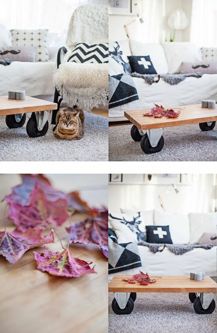Pastill.nu - fotograf Stockholm - Järfälla: Vardagsrumsbord - DIY