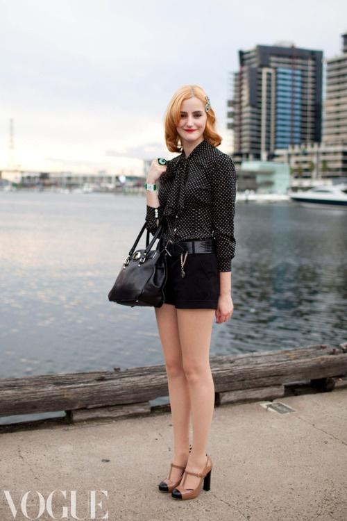 Melbourne Fashion Festival. Image by Xiaohan Shen