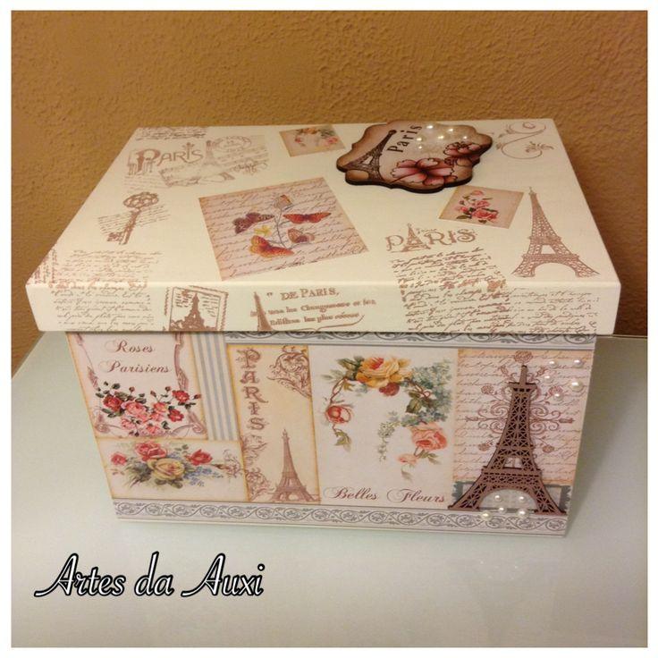 Artes da Auxi -caixa organizadora