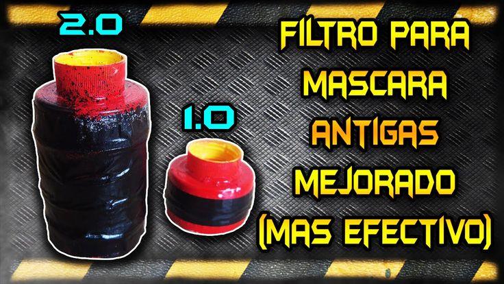 ◀︎▶︎Como hacer Filtros para Mascara Antigas V.2.0 Mejorados Vídeo Offici...