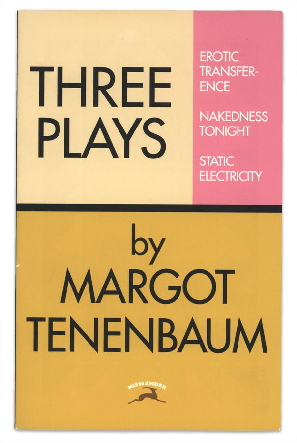 Three Plays (Wes Anderson)