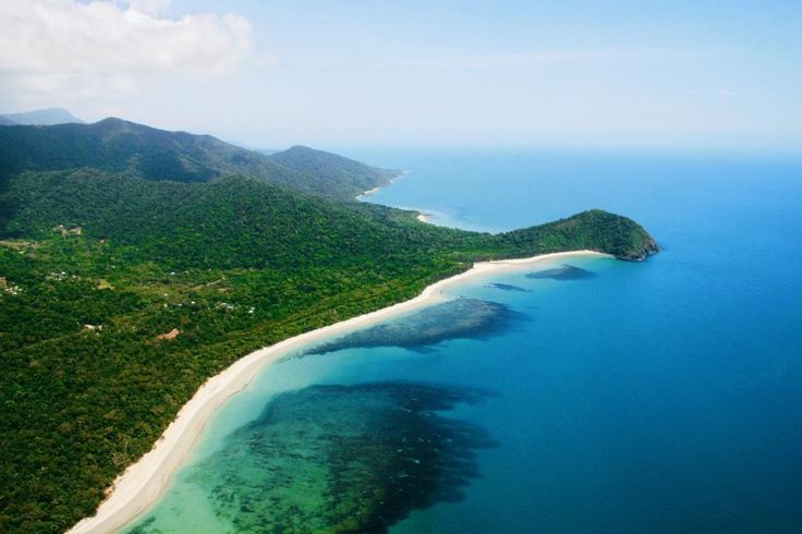 Cape Tribulation, where the Rainforest meets the Reef. Voted #98 Top 100 Things to Do before you die http://www.australiantraveller.com/cairns/095-see-where-the-rainforest-meets-the-sea-in-the-daintree/