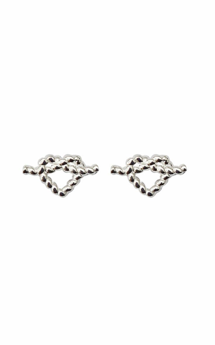 Correy & Lyon - Heart Rope Earrings