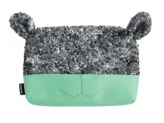 23 best gift ideas for her images on pinterest eye masks makeup bag cute makeup pouch green small cosmetic bag unique gift for her easter gift vegan negle Gallery
