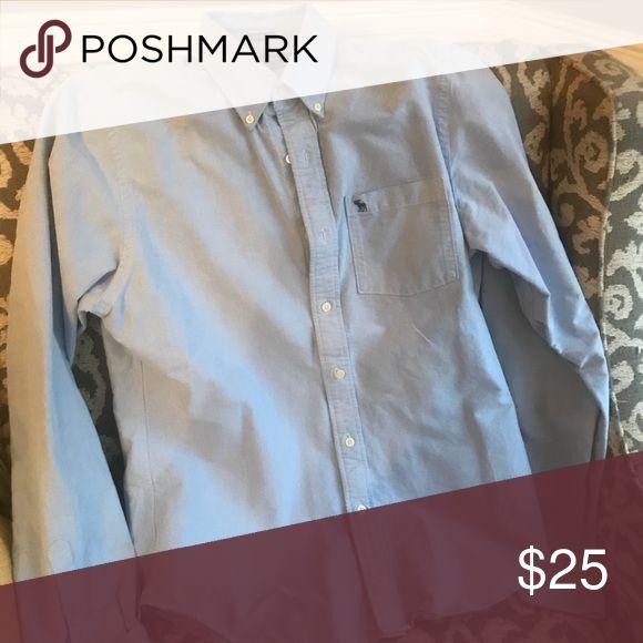 Abercrombie Men's Oxford Shirt Abercrombie Men's Oxford Shirt Abercrombie & Fitch Shirts Casual Button Down Shirts