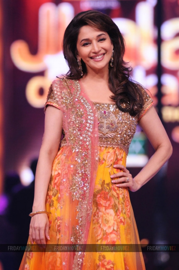 Madhuri Dixit at the launch of Jhalak Dikhhla Jaa 5