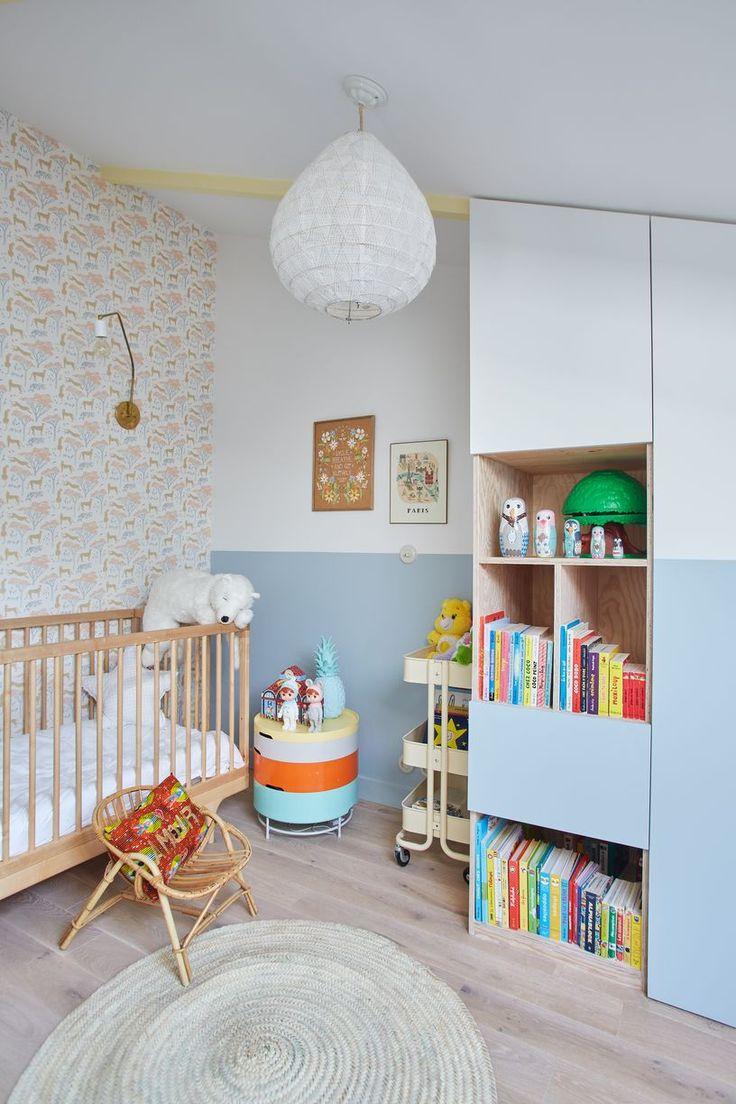 Chambre enfants -Maison de 165m2- GCG ARCHITECTES