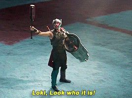 Loki looks like me when I see a spider by a door...frozen because the only way out is protected by a monster
