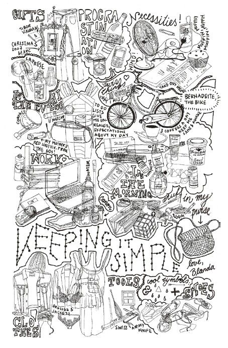 """Keeping it simple"" by Blanda Eggenschwiler"