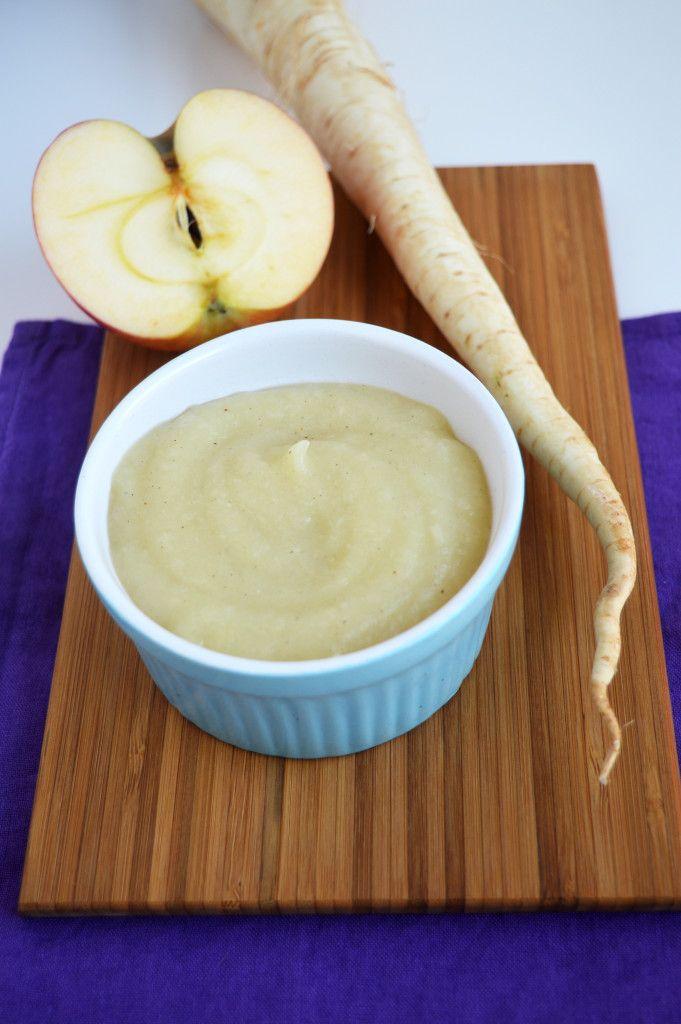 Almás fehérrépapüré