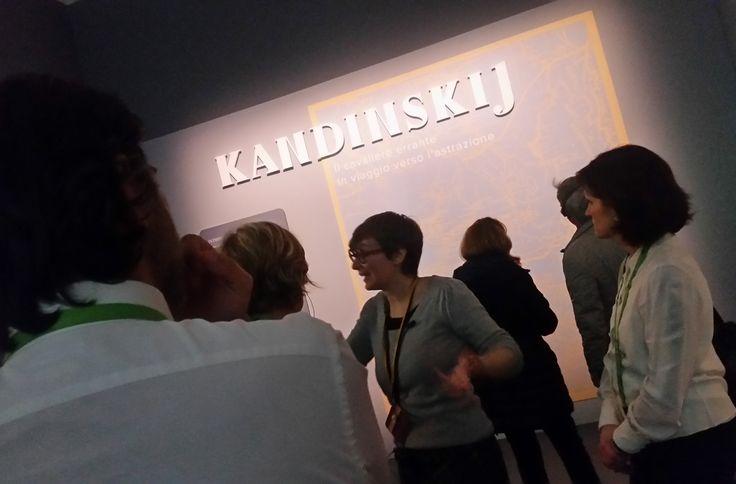 Kandinskij, il cavaliere errante presso il MUDEC di Milano fino al 9 luglio 2017. Scopritela con le migliori guide di Milano. Contattate tour@milanoarte.net per info e prenotazioni.  #Mudec #Kandinskij #Milano